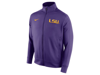 LSU Tigers Nike NCAA Men's Stadium Classic Track Jacket