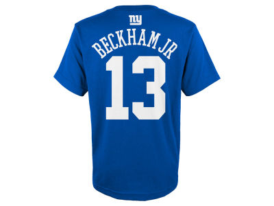 New York Giants Odell Beckham Jr. Outerstuff NFL Youth Mainliner Player T-Shirt