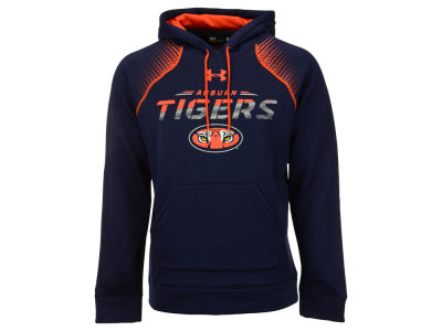 Auburn Tigers Under Armour NCAA Men's Metallic Chrome Ink Hoodie