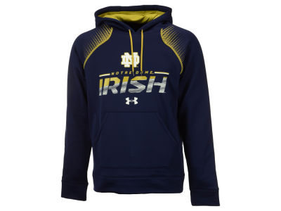 Notre Dame Fighting Irish Under Armour NCAA Men's Metallic Chrome Ink Hoodie