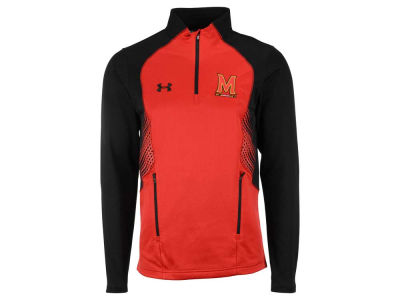 Maryland Terrapins Under Armour NCAA Men's SMU Long Sleeve 1/4 Zip Pullover Shirt
