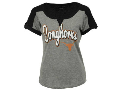 Texas Longhorns 5th & Ocean NCAA Women's Rolled Sleeve T-Shirt