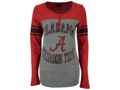 Alabama Crimson Tide 5th & Ocean NCAA Women's Vintage Raglan T-Shirt
