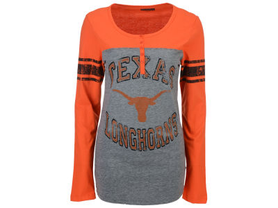 Texas Longhorns 5th & Ocean NCAA Women's Vintage Raglan T-Shirt