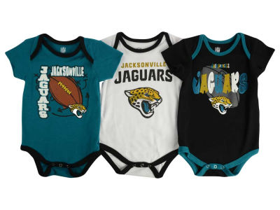 Jacksonville Jaguars NFL Infant 3 Point Spread Body Suit Set