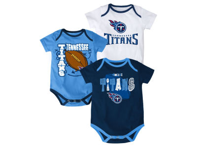 Tennessee Titans NFL Newborn 3 Point Spread Body Suit Set