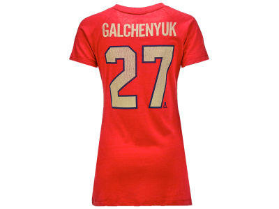 Montreal Canadiens Alex Galchenyuk Reebok NHL Women's V-Neck Tri-Blend Player T-Shirt