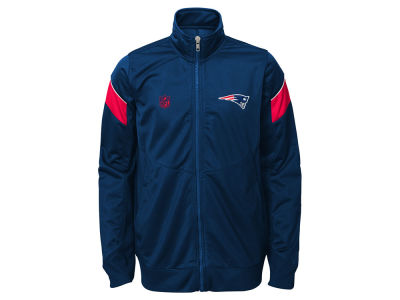 New England Patriots NFL Youth Precision Track Jacket