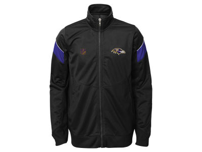 Baltimore Ravens NFL Youth Precision Track Jacket