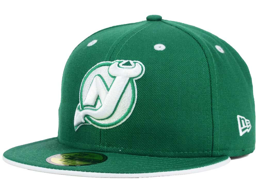709a277be96 New Jersey Devils New Era NHL St. Pat 59FIFTY Cap