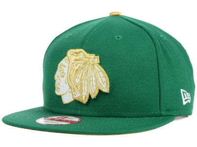 Chicago Blackhawks New Era NHL St. Pat 9FIFTY Snapback Cap