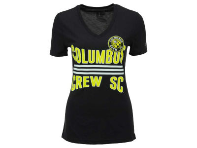 Columbus Crew SC adidas MLS Women's Middle Stripes T-Shirt