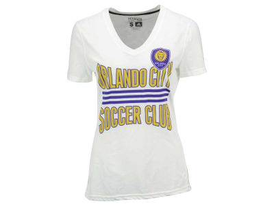 Orlando City SC adidas MLS Women's Middle Stripes T-Shirt