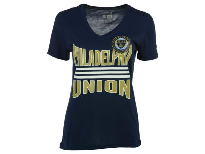 Philadelphia Union adidas MLS Women's Middle Stripes T-Shirt