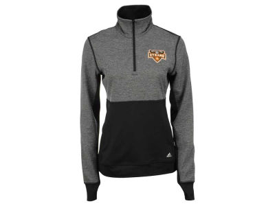 Houston Dynamo adidas MLS Women's Logo Climalite 1/2 Zip Jacket