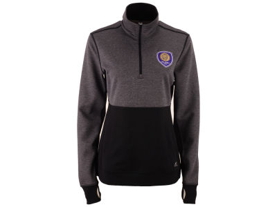 Orlando City SC adidas MLS Women's Logo Climalite 1/2 Zip Jacket