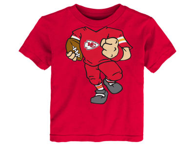 Kansas City Chiefs NFL Toddler Football Dreams T-Shirt