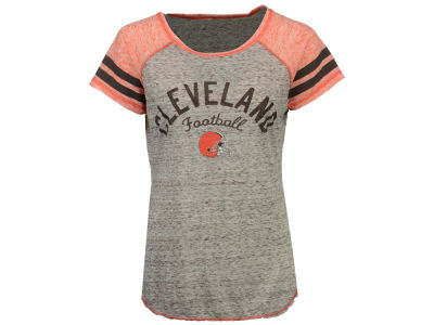 Cleveland Browns GIII NFL Women's Bleachers T-Shirt