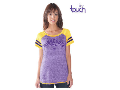 Minnesota Vikings GIII NFL Women's Bleachers T-Shirt