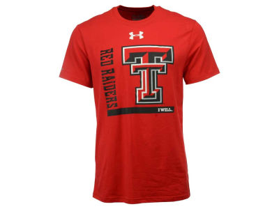 Texas Tech Red Raiders Under Armour NCAA Men's Charged Cotton I Will T-Shirt