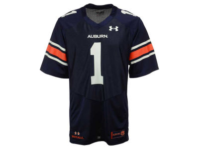 Auburn Tigers #1 Under Armour NCAA Men's Replica Football Jersey