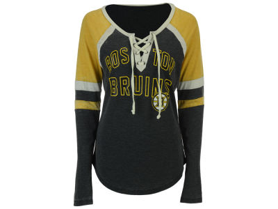 Boston Bruins GIII NHL Women's Backshot Jersey
