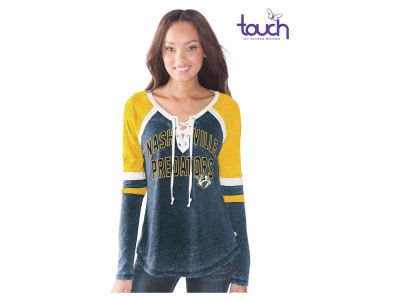Nashville Predators GIII NHL Women's Backshot Jersey