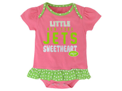 New York Jets NFL Infant Little Sweet Bib & Bootie Set