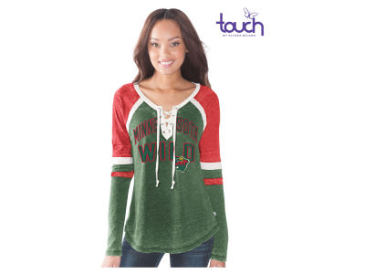 Minnesota Wild GIII NHL Women's Backshot Jersey