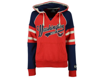 Washington Capitals NHL Women's Shutout Pullover Hoodie