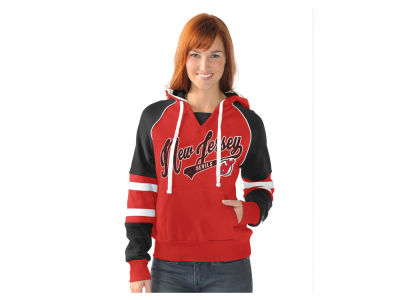 New Jersey Devils G-III Sports NHL Women's Shutout Pullover Hoodie