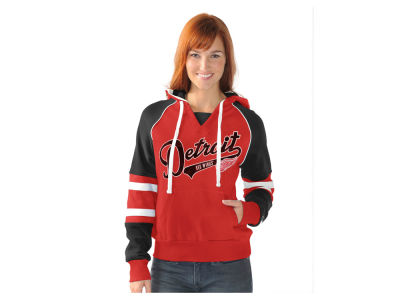 Detroit Red Wings NHL Women's Shutout Pullover Hoodie