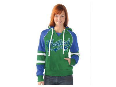 Hartford Whalers NHL Women's Shutout Pullover Hoodie