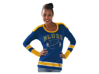 St. Louis Blues NHL Women's PP Thermal Long Sleeve T-Shirt