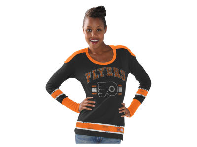 Philadelphia Flyers GIII NHL Women's PP Thermal Long Sleeve T-Shirt