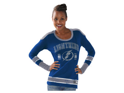 Tampa Bay Lightning GIII NHL Women's PP Thermal Long Sleeve T-Shirt