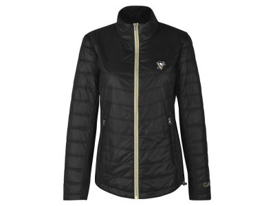 Pittsburgh Penguins GIII NHL Women's Sideline Quilted Jacket