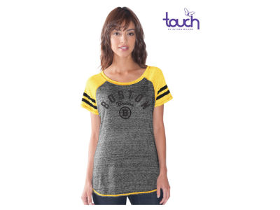 Boston Bruins G-III Sports NHL Women's In The Bleachers T-Shirt