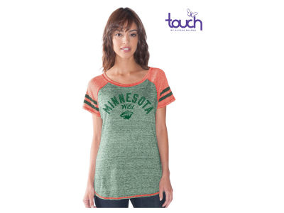 Minnesota Wild GIII NHL Women's In The Bleachers T-Shirt
