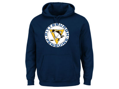 Pittsburgh Penguins Majestic NHL Men's Vintage Lightweight Patch Hoodie