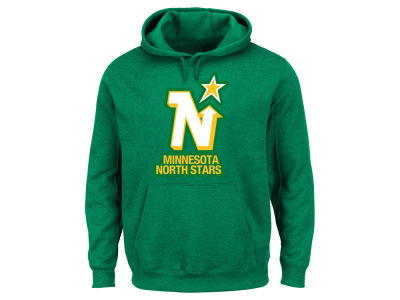 Minnesota North Stars Majestic NHL Men's Vintage Lightweight Patch Hoodie