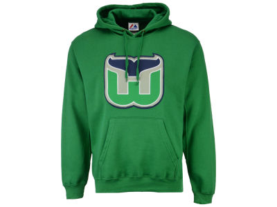 Hartford Whalers Majestic NHL Men's Vintage Lightweight Patch Hoodie