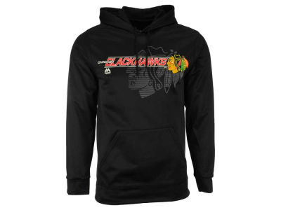 Chicago Blackhawks Majestic NHL Men's Let Loose Synthetic Hoodie