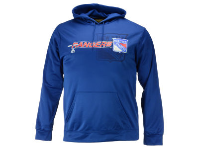 New York Rangers Majestic NHL Men's Let Loose Synthetic Hoodie