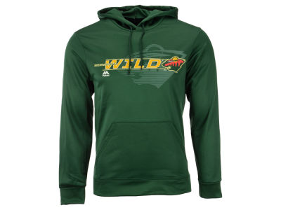 Minnesota Wild Majestic NHL Men's Let Loose Synthetic Hoodie