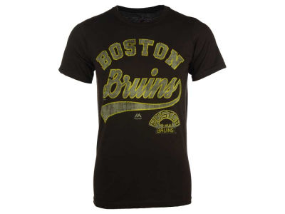 Boston Bruins Majestic NHL Men's Vintage Inspired Performance T-Shirt