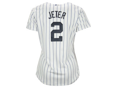 New York Yankees Derek Jeter MLB Women's Cool Base Player Replica Jersey
