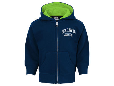 Seattle Seahawks Outerstuff NFL Infant Pledge Full Zip Hoodie
