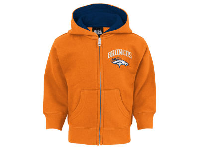 Denver Broncos Outerstuff NFL Infant Pledge Full Zip Hoodie