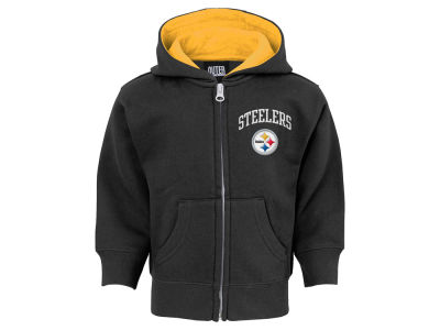 Pittsburgh Steelers Outerstuff NFL Infant Pledge Full Zip Hoodie